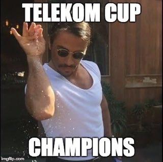 2017 #TelekomCup Champions! 🏆 https://t.co/fazh00pdFf