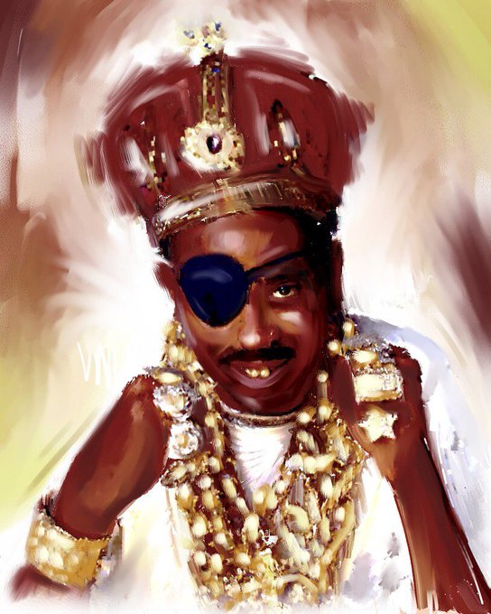 Happy birthday Slick Rick the ruler