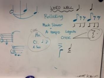 Sight-reading with your middle level ensemble? Take a look at a word wall:  http:// ow.ly/mpTc303OhgX  &nbsp;    #musiced <br>http://pic.twitter.com/yD0EVIFuMY