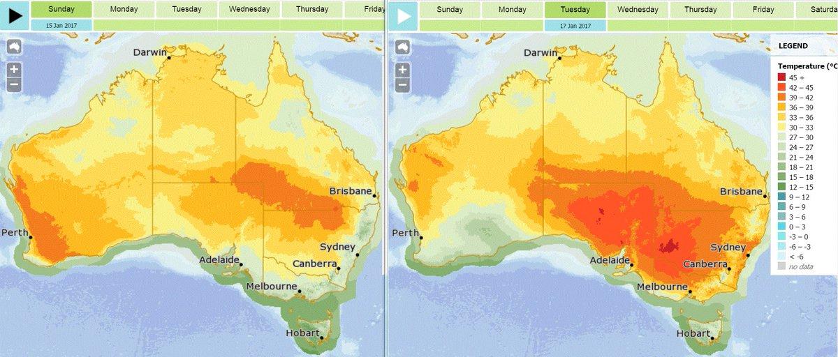 Bureau of meteorology australia on twitter temperatures - Bureau of meteorology australia ...
