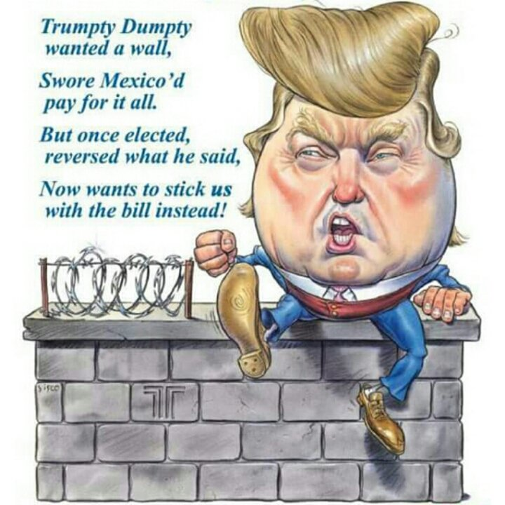 #Trump is out to lunch if he thinks we&#39;ll waste $25 billion on a wall or that Mexico will pick up the tab.  #HeretoStay #DNCforum #1u #tcot<br>http://pic.twitter.com/RhGRqdBjjM