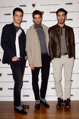 Classic, Casual & Event Capsule: unveiled the new collection Fall-Winter at #mfw #luomovogue #Lamborghini