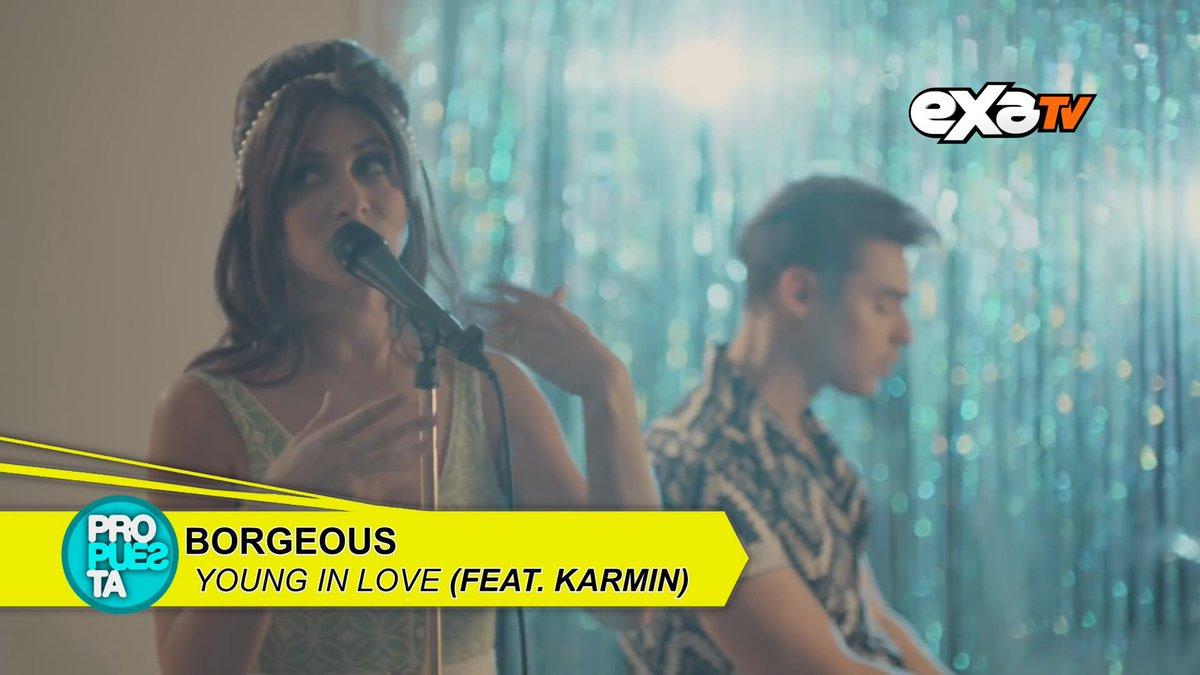 #Propuesta @BorgeousMusic Ft. @karminmusic #YoungInLove 💙 https://t.co...