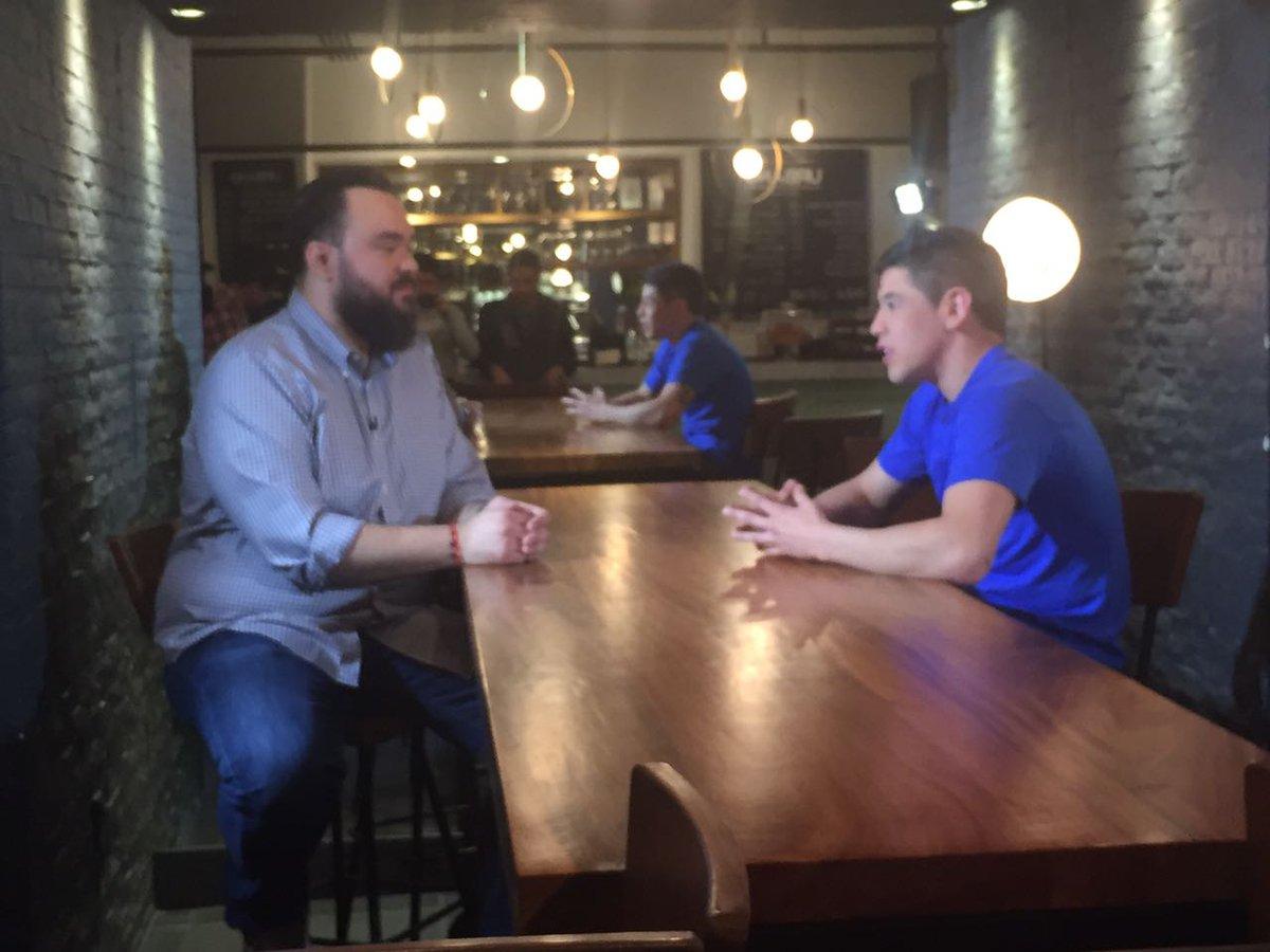 El día de ayer en #RoundCero , muy buena platica con Rodrigo les recomiendo no perderse la entrevista 👌👌 !! https://t.co/rzyjvwQRJN