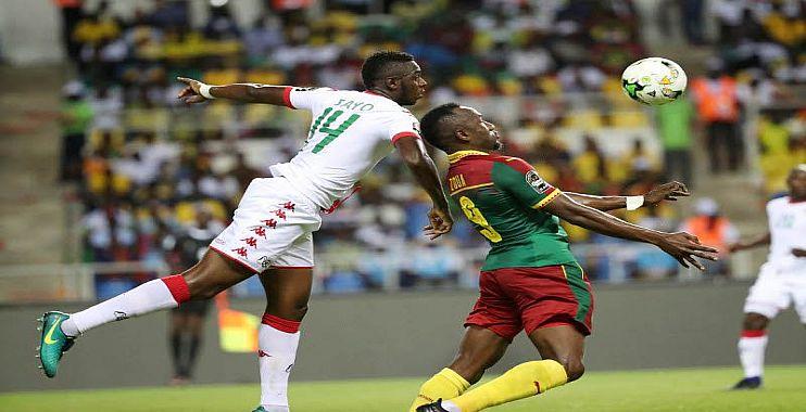 أهداف مباراة بوركينا فاسو والكاميرون