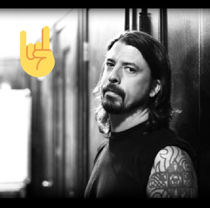 Happy birthday to the coolest man on earth and my most favorited rockstar Dave Grohl