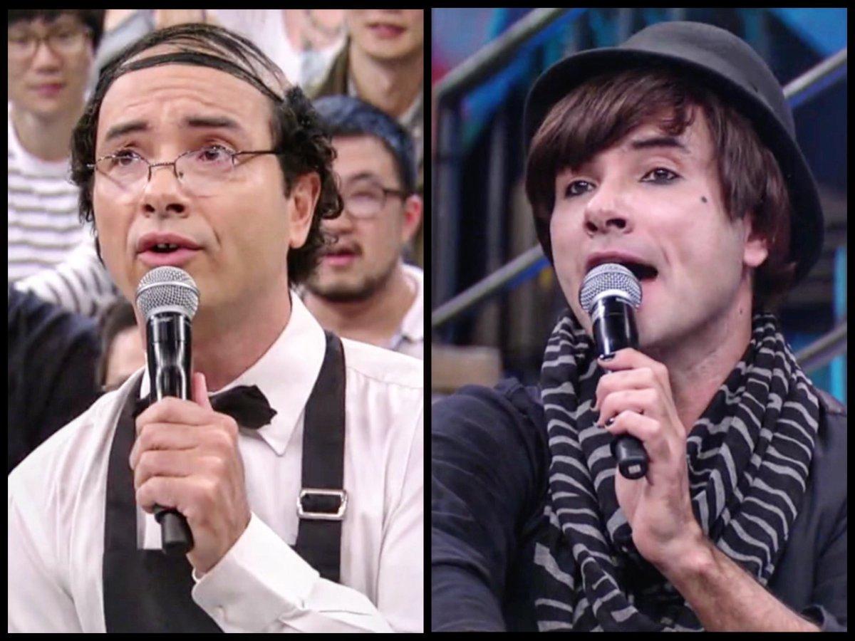 Hoje é dia de #Gilson e #Eloy no palco do #AltasHoras!!! Tá demaissss!...