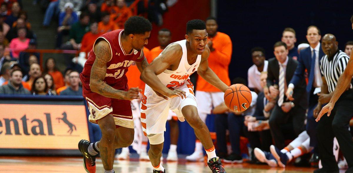 Syracuse Basketball On Twitter Final Syracuse 76 Boston College