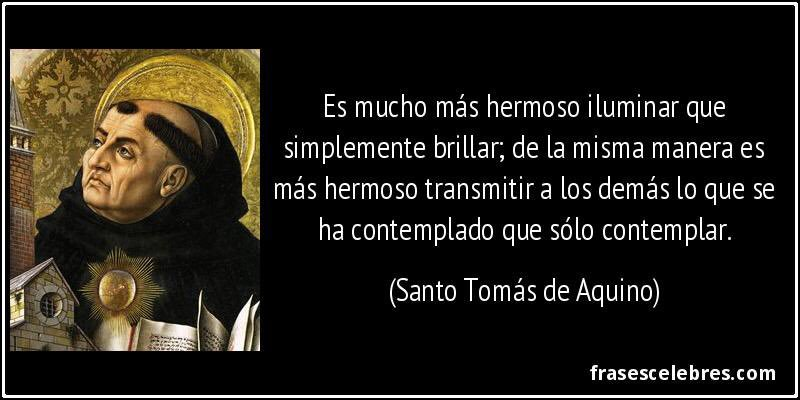 Frases De Santos On Twitter Frase De Santo Tomas De Aquino
