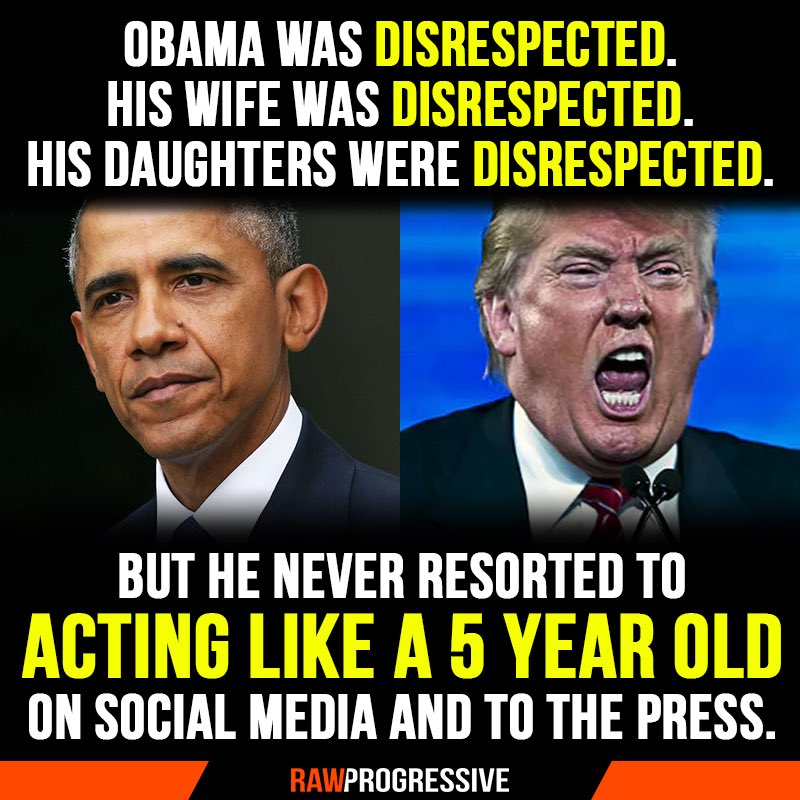 TrumpleThinSkin...... whiniest little baby ever to hold office.   #maga #deplorable #MAGA #ThanksDonald #Republicans #GOP<br>http://pic.twitter.com/qyA5Sk5ffI
