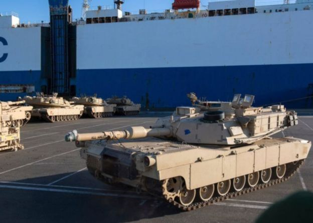 Otan inicia maior mobilização militar dos EUA na Europa desde o fim da Guerra Fria; Rússia fala em ameaça - https://t.co/nv3WOY8K5y