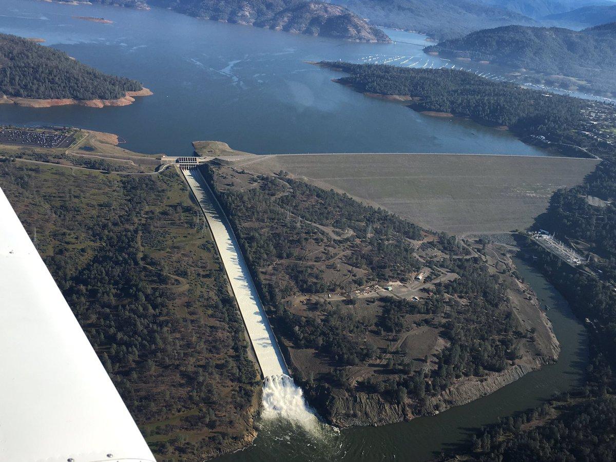 Oroville Dam: mandatory evacuation cancelled 2/14/17