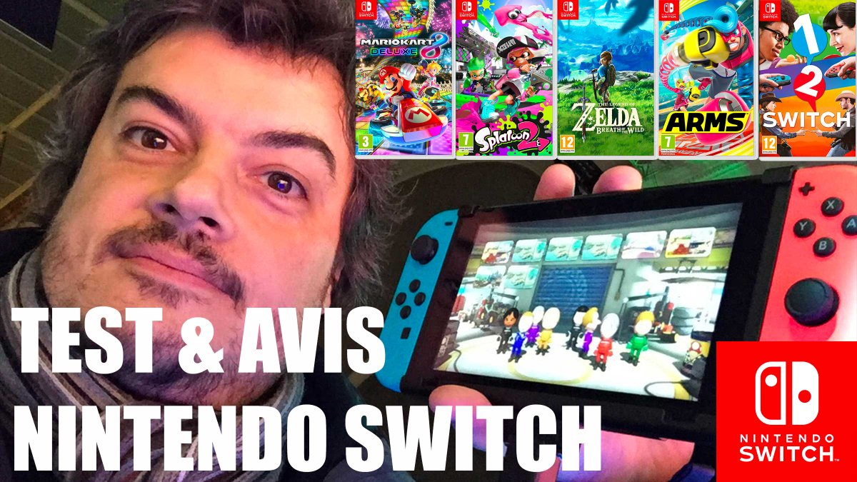 Je reviens sur mon #test de la  #Nintendoswitch import, stockage etc. Alors faut&#39;il l&#39;acheter dès 1er jour ou non ?  https://www. youtube.com/watch?v=aGSTAH dT5RI &nbsp; … <br>http://pic.twitter.com/0eAcbxMaeZ