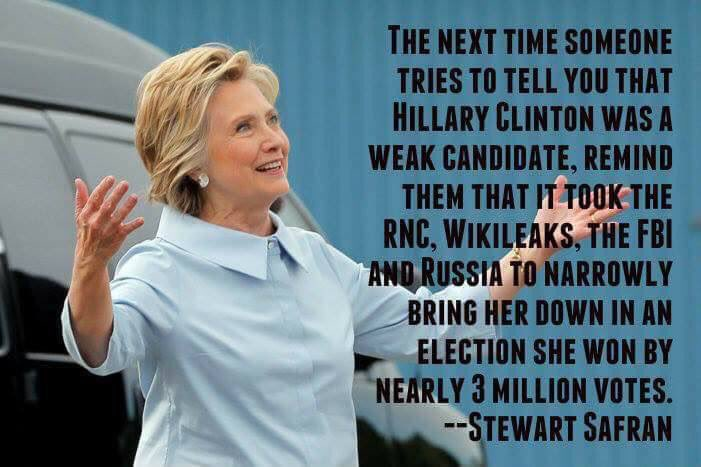 @HillaryClinton Was the most qualified candidate EVER to run! Don&#39;t EVER let a weasel say otherwise! #electionFraud <br>http://pic.twitter.com/8o3vTYzQy8