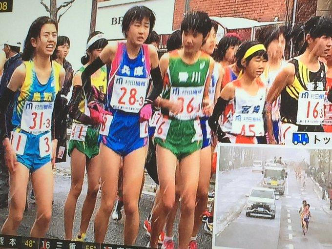 全国都道府県対抗女子駅伝、降雪に見舞われながらも開催で ...