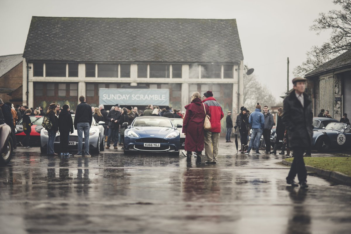 Here\'s a nice shot from last weekend\'s #SundayScramble event at @BicesterH with DB11 and Vanquish S on display.