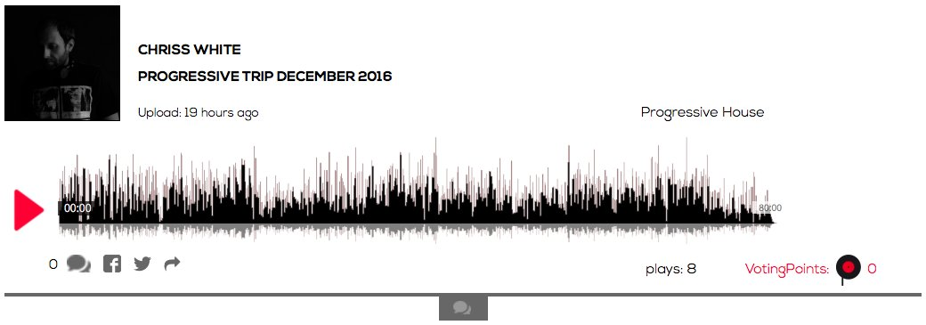 Hear @djchrisswhite Progressive Trip December2016 #progressivehouse  https:// berlinmusicstation.com/track/Chriss%2 0White/Progressive%20Trip%20December%202016/4586 &nbsp; …  #Berlin #music #artists #djs #bands #vc #startup<br>http://pic.twitter.com/4tADcRsDap