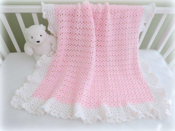 CROCHET PATTERN, Baby Blanket Pattern