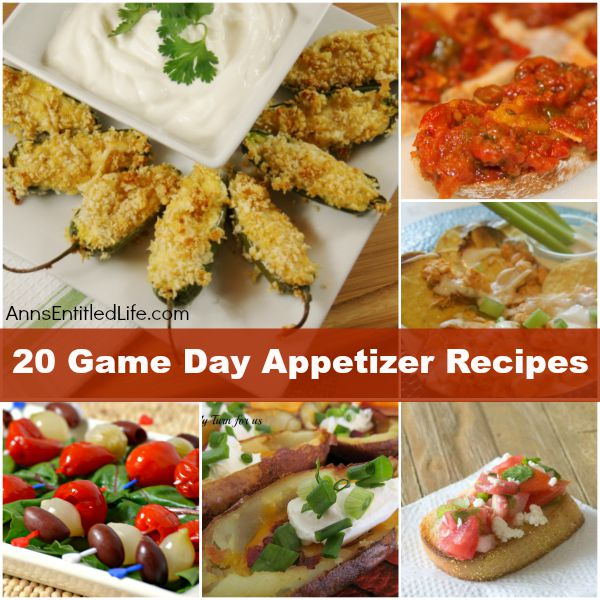 Game Day Recipes – Appetizers