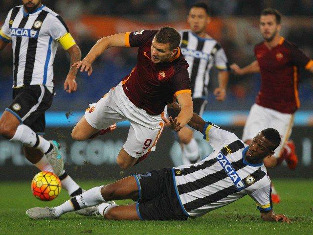 Video Gol Udinese-Roma 0-1: highlights, sintesi e tabellino