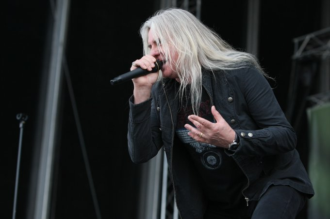 Happy 66th birthday to Biff Byford, lead singer and founding member of Saxon.