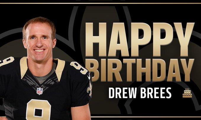 Drew Brees is ELITE!!!!!Happy Birthday