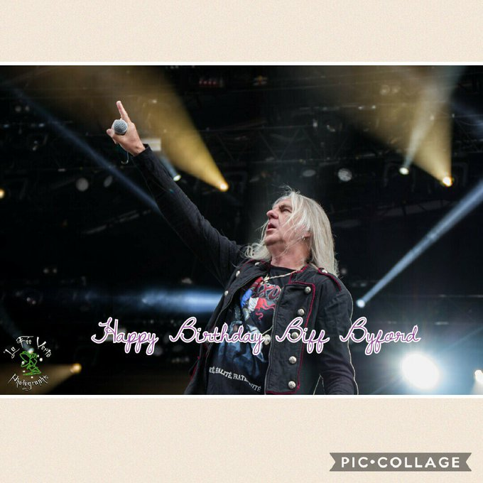 Happy Birthday Biff Byford