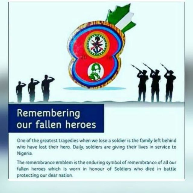 Defence Hq Nigeria On Twitter Remembering Our Fallen Heroes 2017