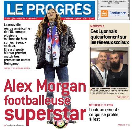 Et vous, vous êtes plutôt #Morgan ou #Chabal ? Les deux à la Une du Progrès ce dimanche @alexmorgan13 @leprogreslyon @JM_Aulas #OL #Lyon<br>http://pic.twitter.com/88F0JbzbiS