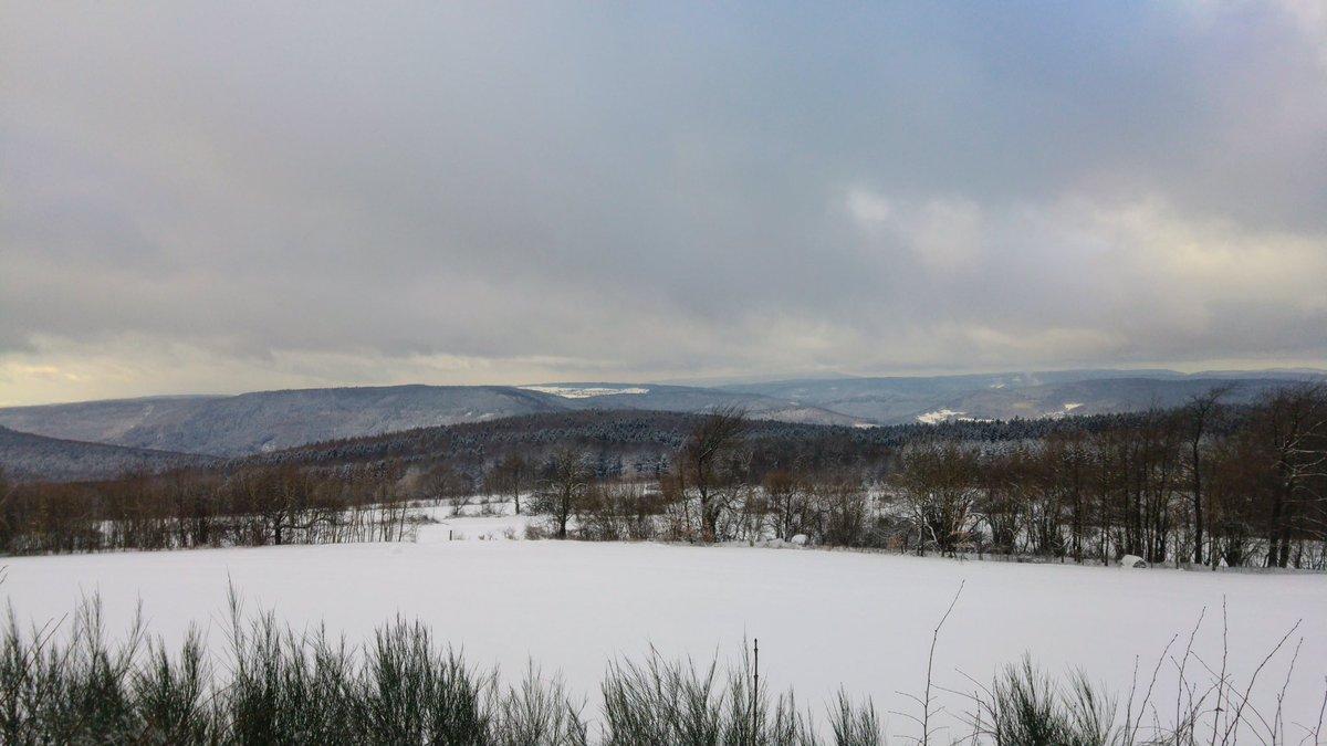schnee odenwald