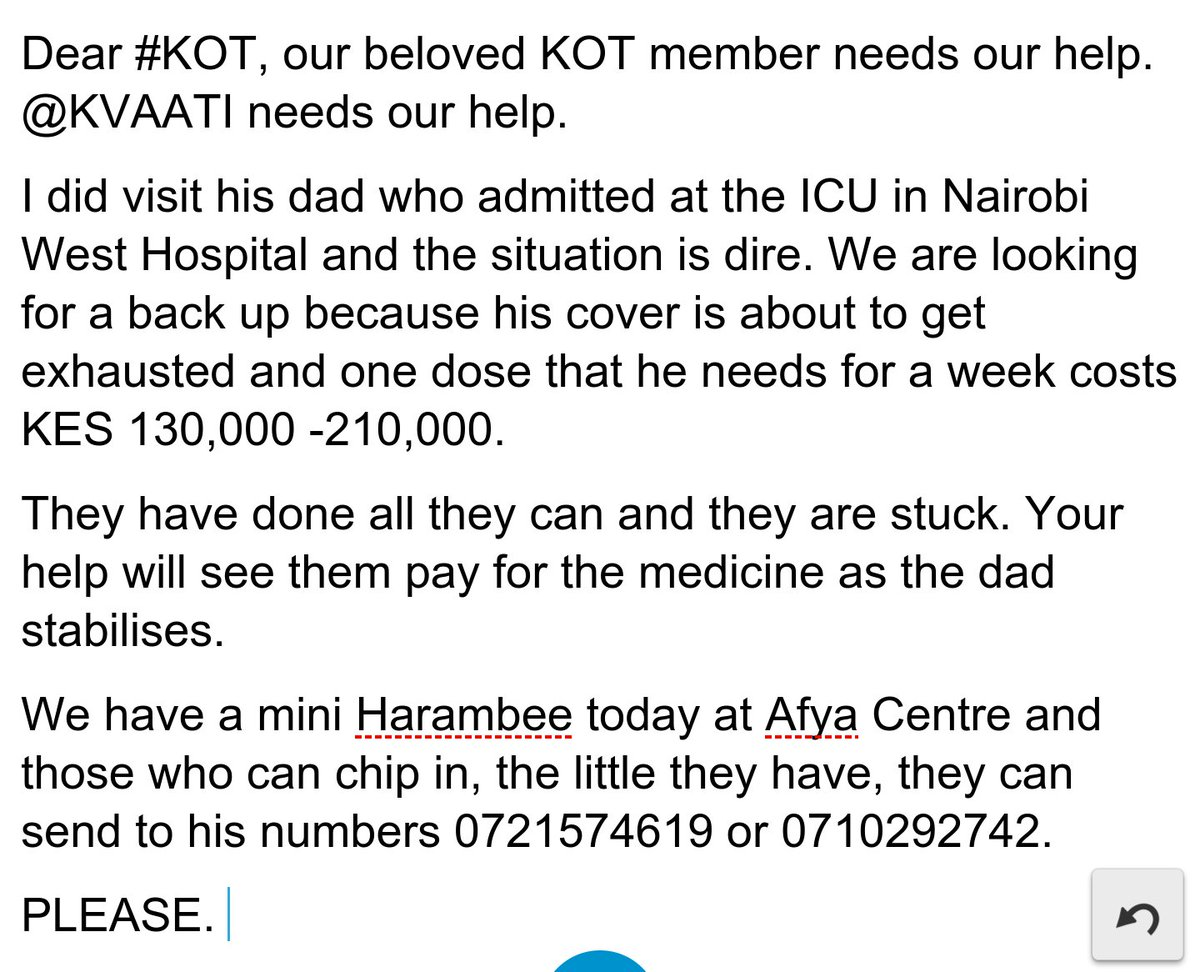 Dear #KOT @Kvaati NEEDS our help. Please read below & see what you can do to help. His dad is in ICU. Please share https://t.co/ycs4NZKdTo