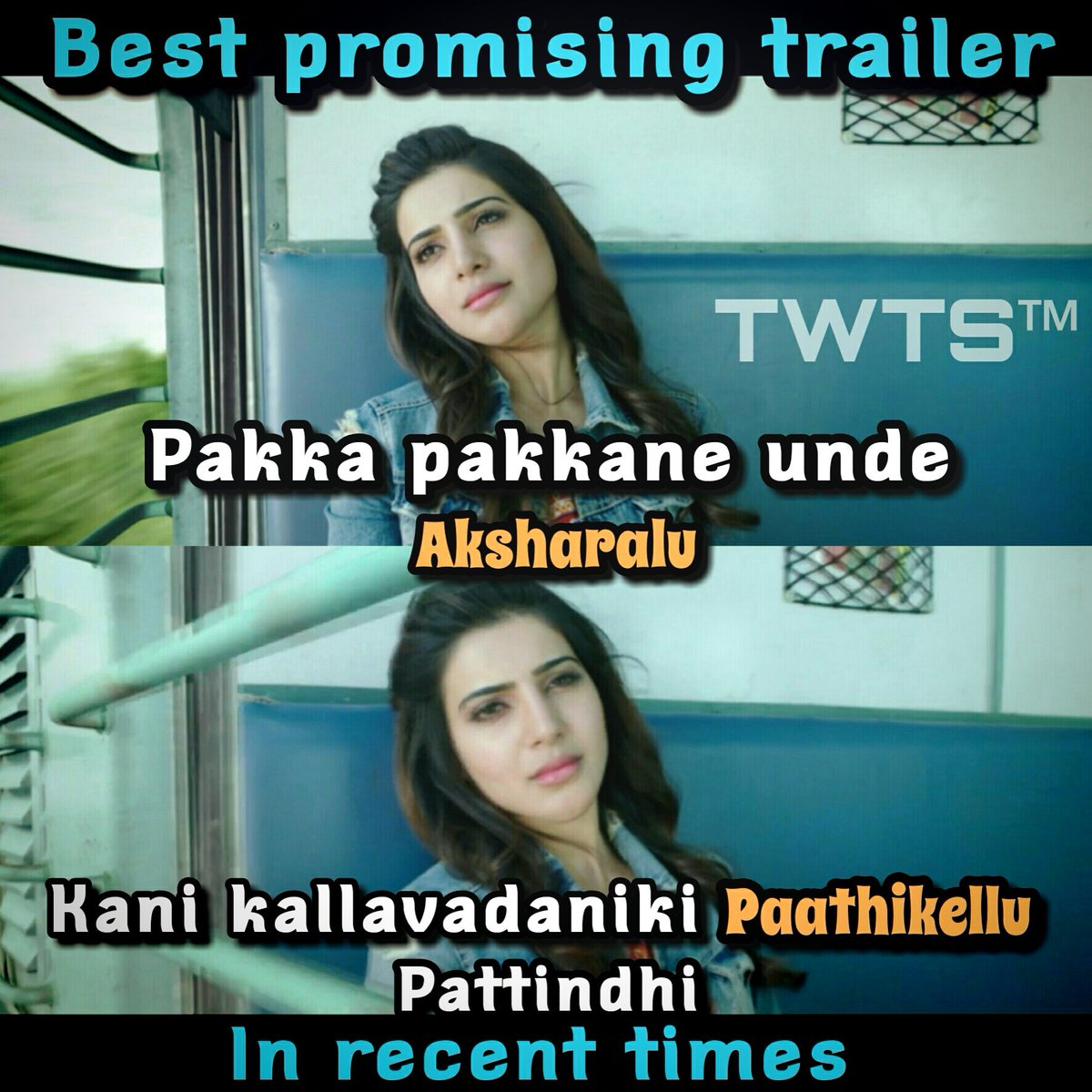 Best Promising Trailer in Recent Times #June2 #2k16 #AAaPremieronZtelugu @Samanthaprabhu2 #TrivikramCelluloid #TWTS™<br>http://pic.twitter.com/cxawwBSGVc
