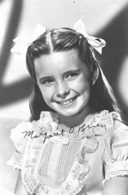 Happy 80th birthday and bright blessings, Margaret O\Brien!!