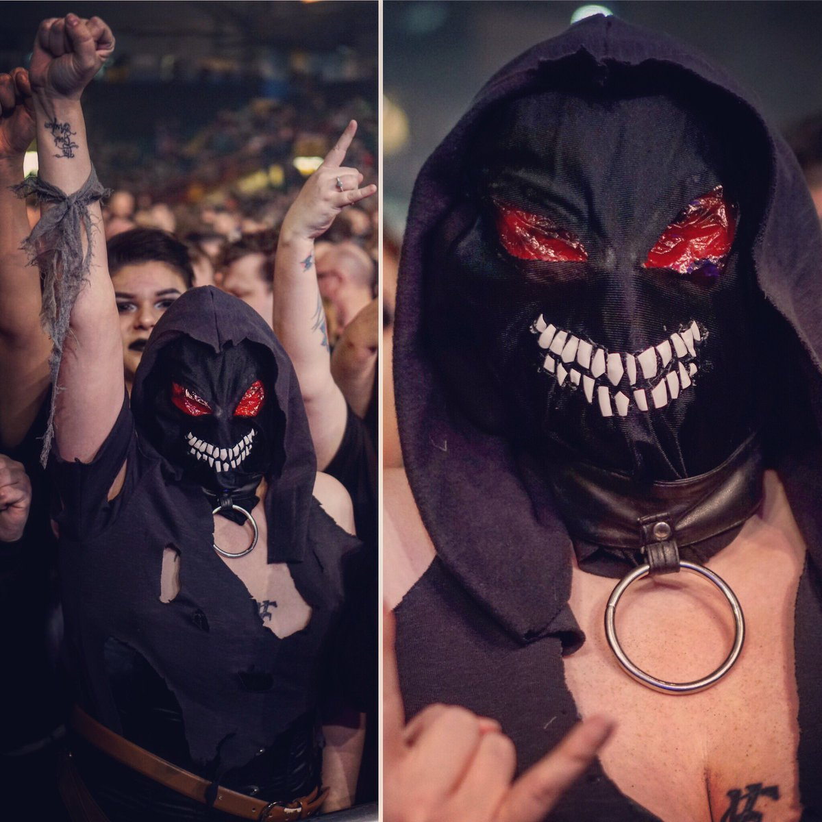 Disturbed the guy cosplay