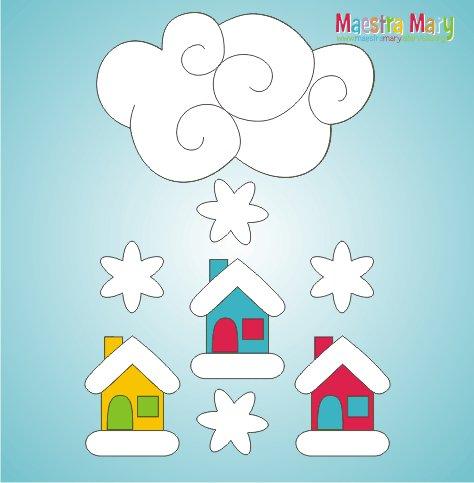 Maestra mary maestramary1 twitter for Addobbi inverno scuola dell infanzia