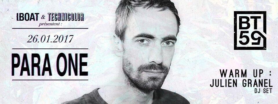 J&#39;ouvre pour PARA ONE le 26 janvier au #BT59 à #Bordeaux en #DJset  <br>http://pic.twitter.com/gDzyq3oVfJ