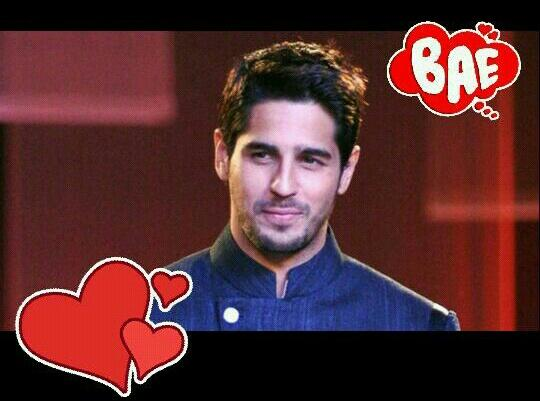 My Bae :)) Happy Birthday Sidharth Malhotra