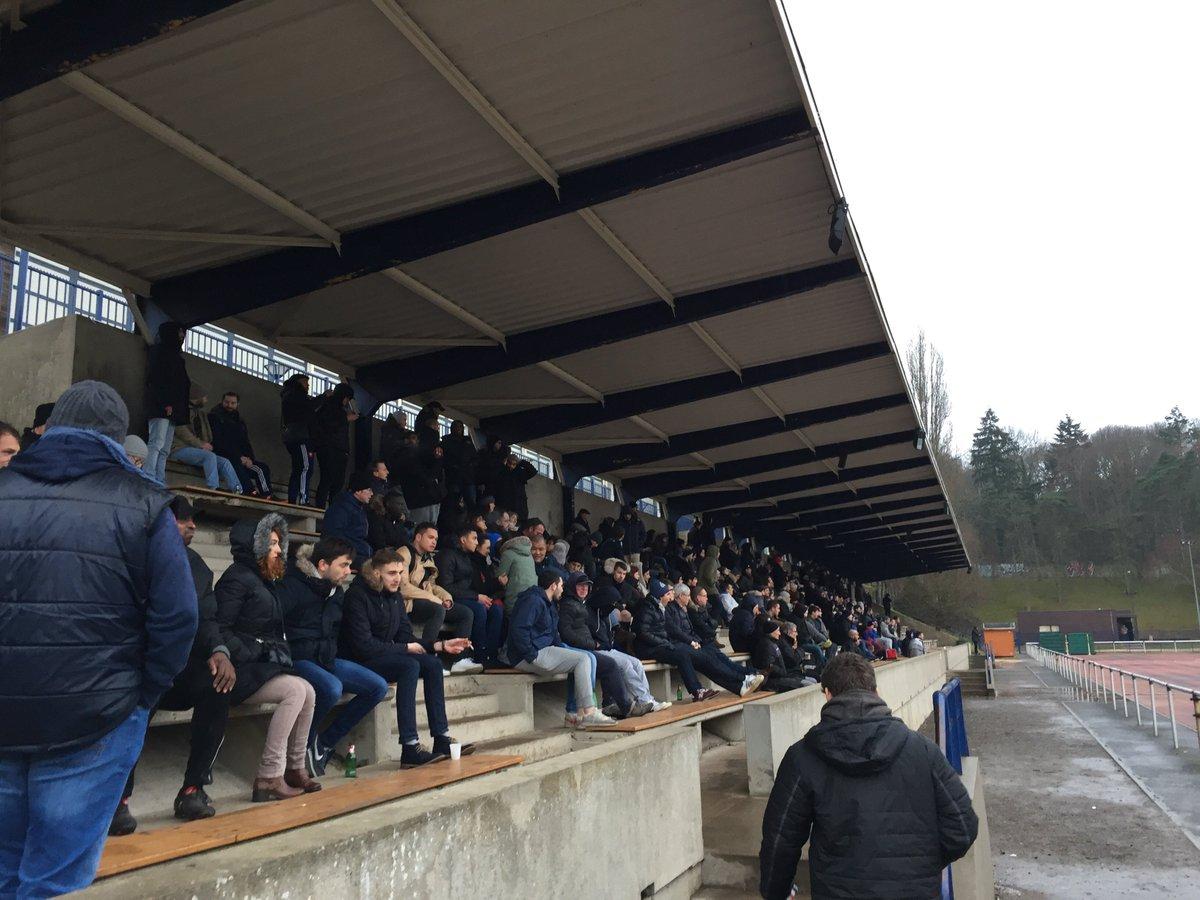 C'est terminé au #stadehunebelle #Clamart s'incline 16-19 contre #Antony merci aux #supporters venus malgré le froid  #federale2 #Cr92am92<br>http://pic.twitter.com/HOzbu1V70z