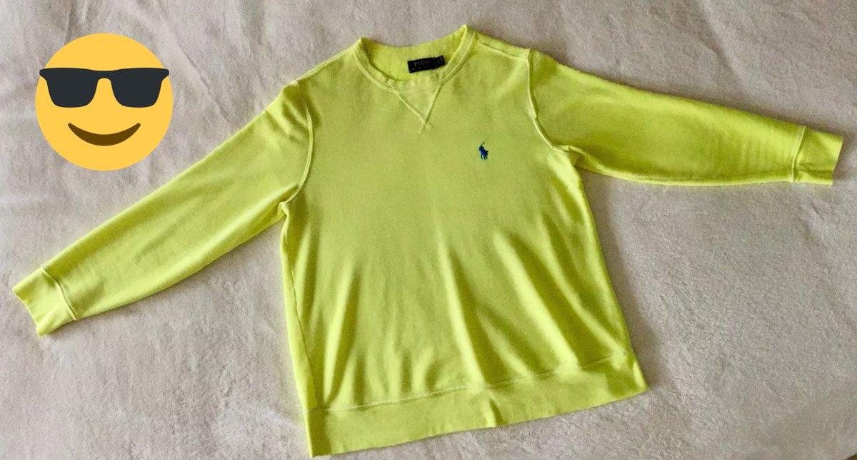 #Polo #Ralph #Lauren Men&#39;s Crew-Neck #Pullover Classic Terry #Sweatshirt  M Yellow  https://www. ebay.com/itm/1623555874 14 &nbsp; …  @eBay #men #guys #ebay<br>http://pic.twitter.com/R8HFc35wYs