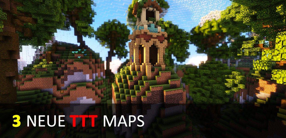 GommeHDnet в Twitter UPDATE Ab Heute Gibt Es Für Euch In TTT Die - Minecraft server erstellen wie gommehd