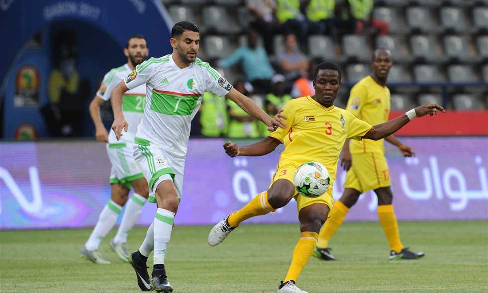 أهداف مباراة الجزائر وزيمبابوي 2-2