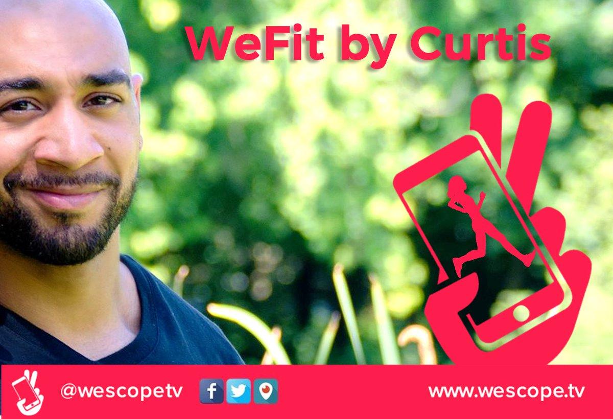 Nouvelle émission #sport &amp;amp; #fitness avec &quot;WeFit by Curtis&quot; dès demain lundi à 22h sur #Periscope  @WeScopeTV ! #mondaymotivation #GoLive<br>http://pic.twitter.com/oi5ezaxLUt