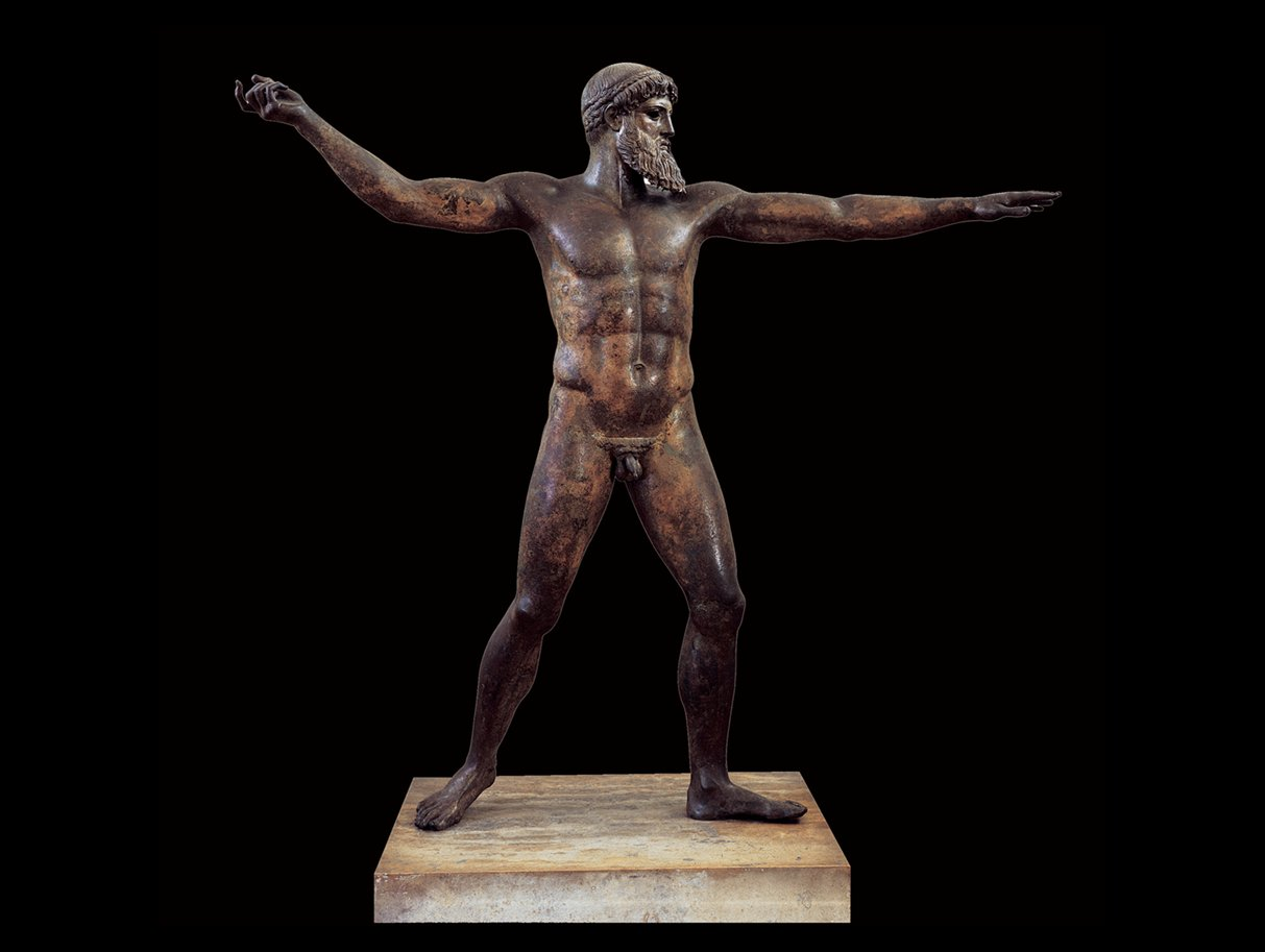artemision bronze poseidon info