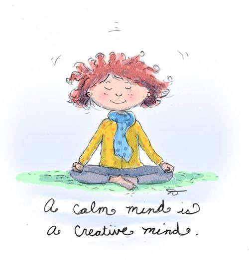 A Calm Mind Is A Creative Mind https://t.co/uMwevnsdIr