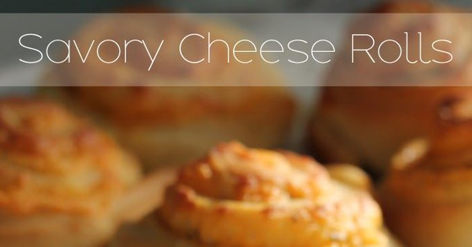 Savory Cheese Rolls
