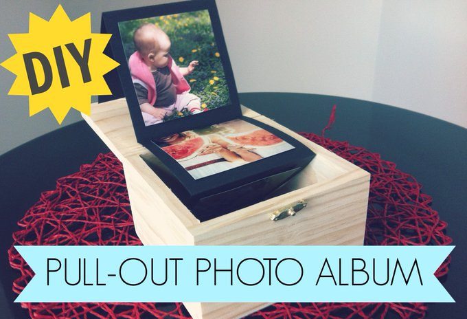 Pull-Out Photo Album