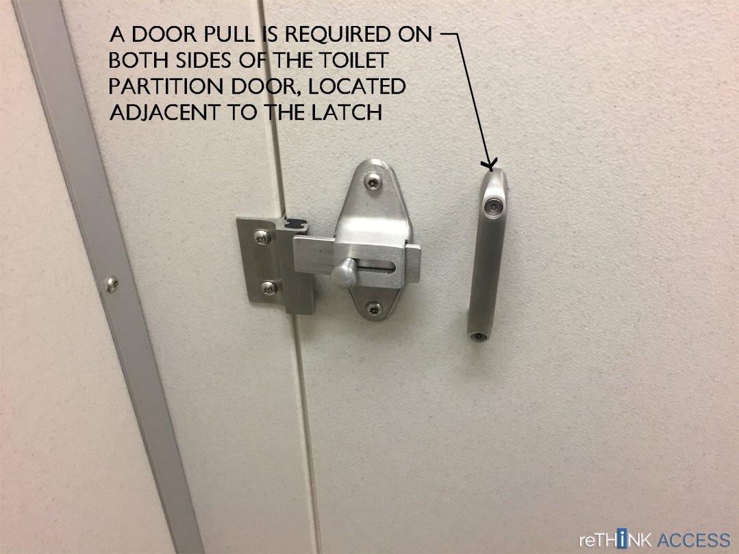 ReThink Access Rethinkaccess Twitter - Ada bathroom door handle