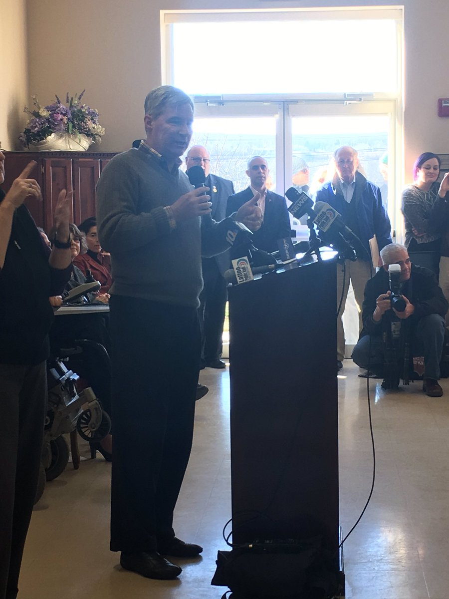Proud to stand w/ 100&#39;s of #RI&#39;ers sending a clear message to PEOTUS &amp; Congress today: the #ACA, #Medicare &amp; #Medicaid must be protected! <br>http://pic.twitter.com/WHldrITouF