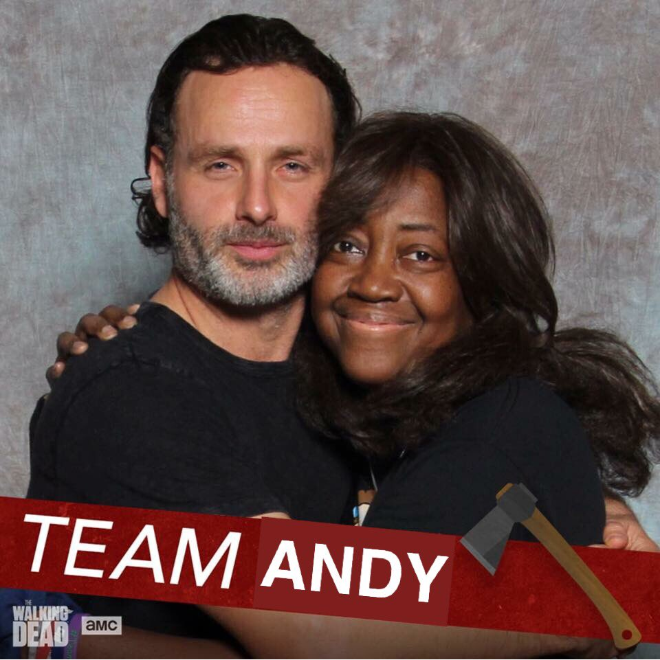 #MeetTheTeam  Meet Lisa @lcwilli1 ~ the project manager &amp; primary admin for #TeamAndyLincoln   https://www. facebook.com/teamandylincol n/posts/743968492425875:0 &nbsp; …  #AndrewLincoln<br>http://pic.twitter.com/mGdF7IgsOb