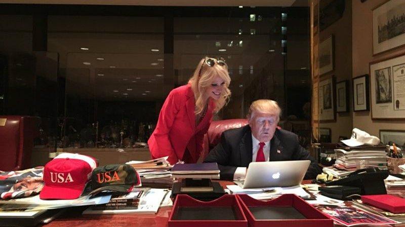 "Donald Trump on using Twitter as president: ""Bing bing bing."""